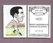 Doncaster Rovers Benny Underwood 15 (FC)